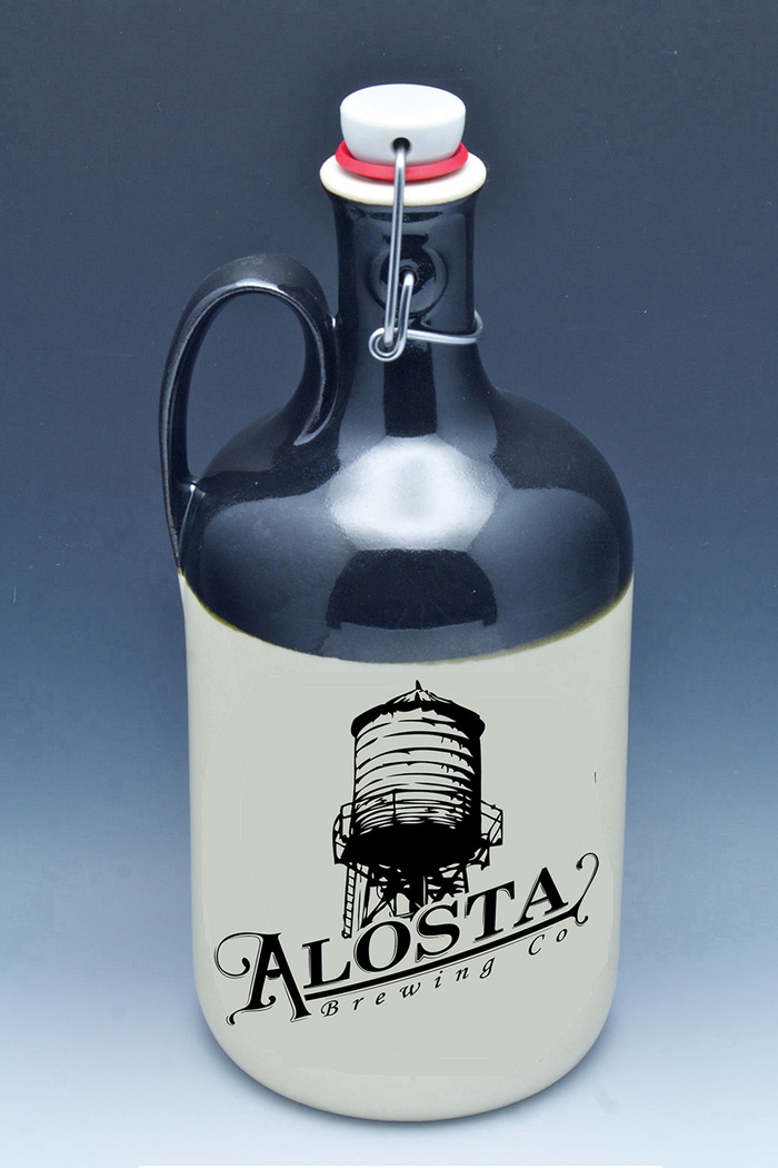 Here is a sample of the awesome custom growler from Handmadegrowlers.com