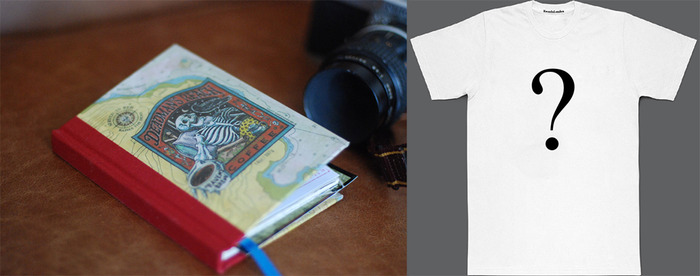Deadman's Reach Sketch Book + one of the 3 T-shirts + Film HD Download