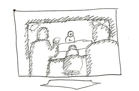 Early Storyboard Sketch