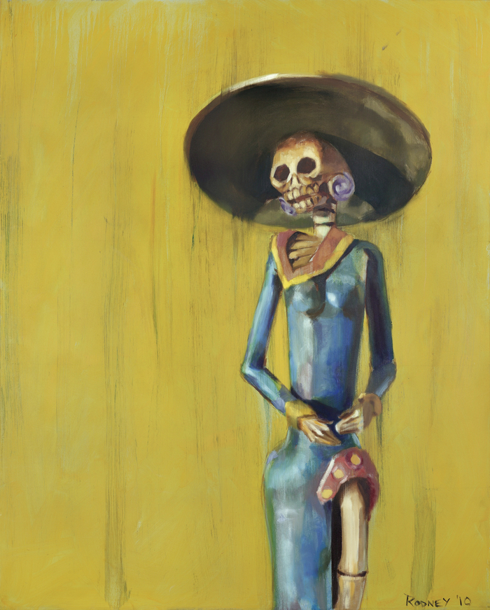 """""""Day Of The Dead"""" 48x60in Oil on Canvas"""