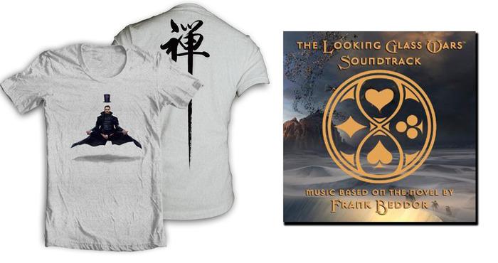SEEK IT. Exclusive Zen of Wonder t-shirt! Looking Glass Wars Soundtrack available in CADET MILLINER and ELITE MILLINER!