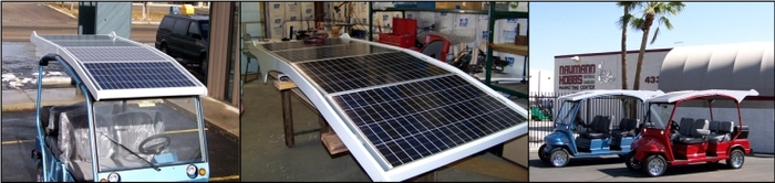 Solar Top for Electrical Vehicles