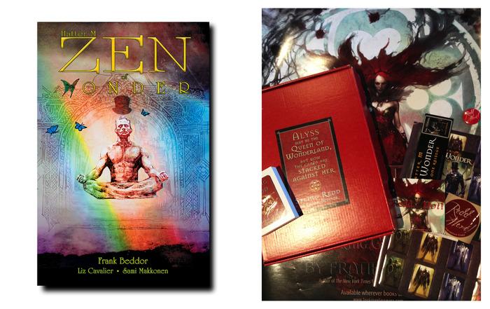 IMAGINATION SOARS. Zen of Wonder alternate  cover by Bill Sienkiewicz. REDD HOT package.