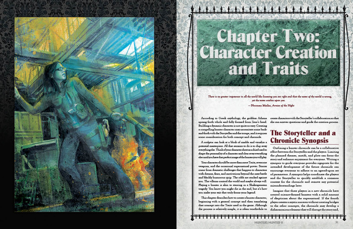 Chapter Opening Sample Page Spread
