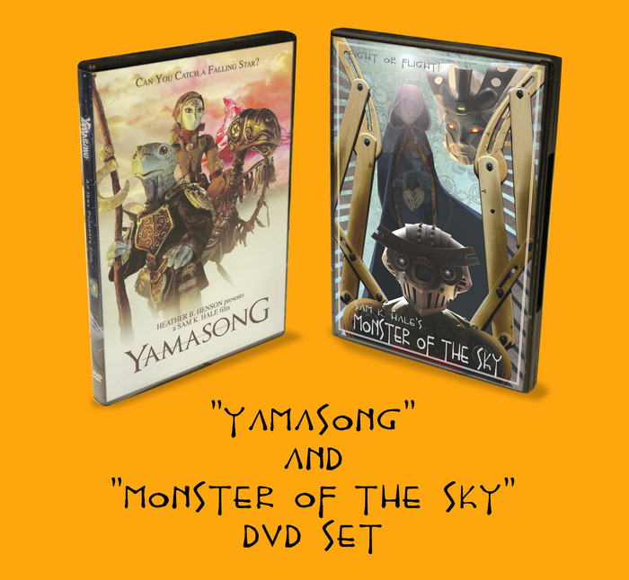 """DVD 2-pack includes """"Yamasong"""" & """"Monster"""""""