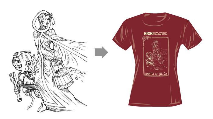 Women's MONSTER T-shirt!