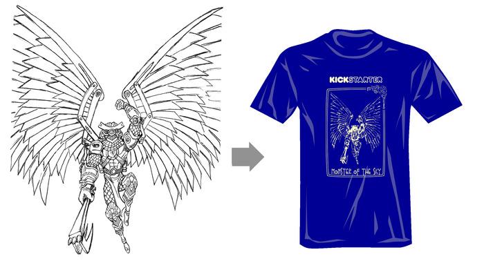 Men's MONSTER T-shirt!