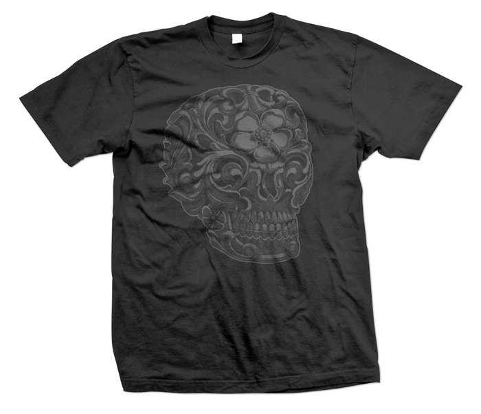 Discharge printed T-shirts. Printed by Steadfast Brand.