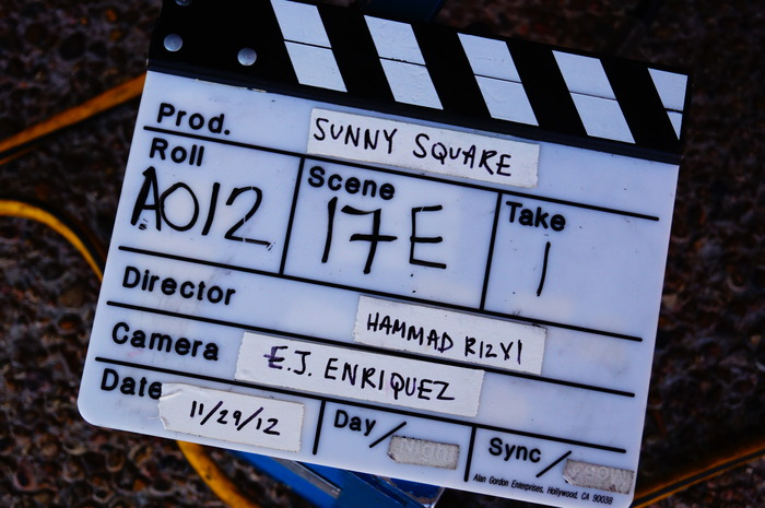 On set - DAY ONE