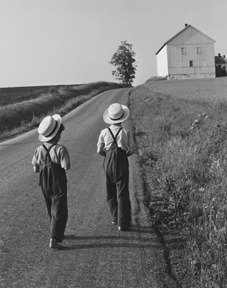 Two Amish Boys, Lancaster, PA, 1962