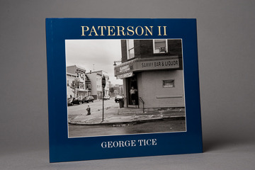 Paterson II book, signed by George Tice