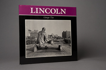 Lincoln book, signed by George Tice