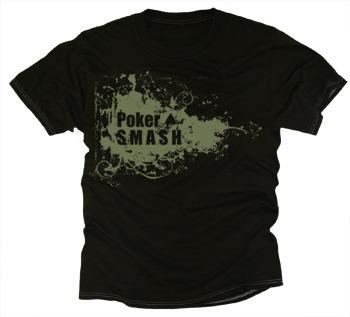 Black Poker Smash T-shirt