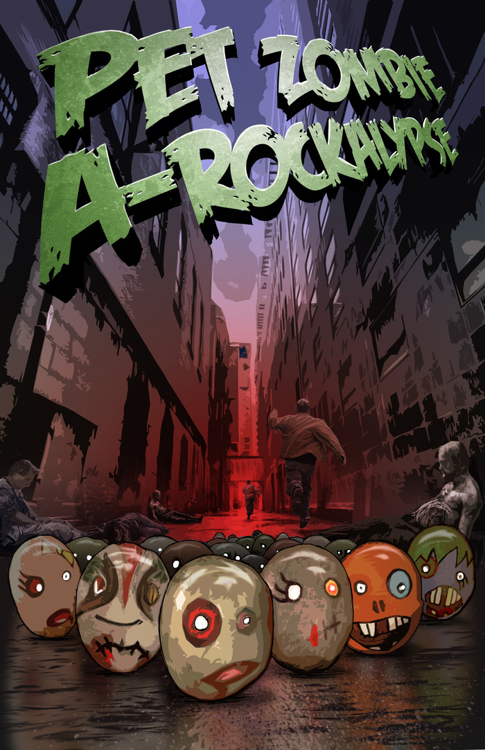 Pet Zombie A-Rockalypse Movie Poster