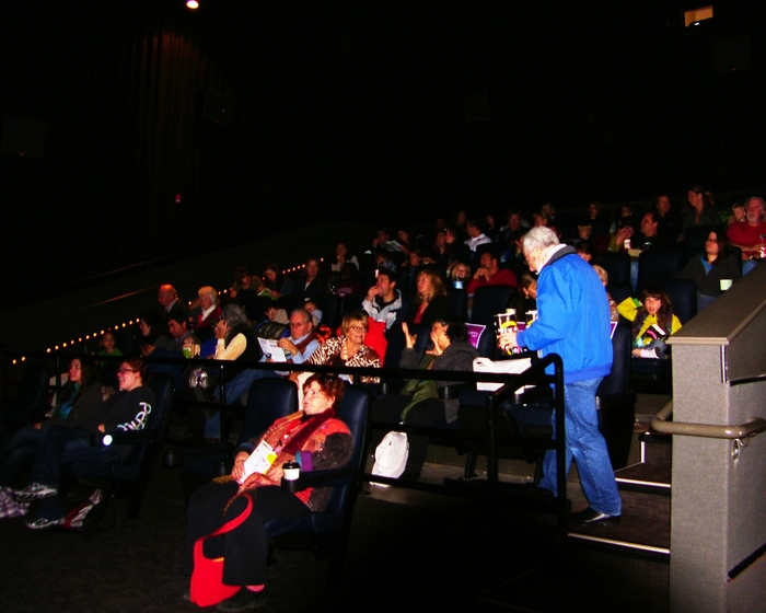 Audience at the screening of Keiko The Untold Story at the 2011 Denver Starz Film Festival