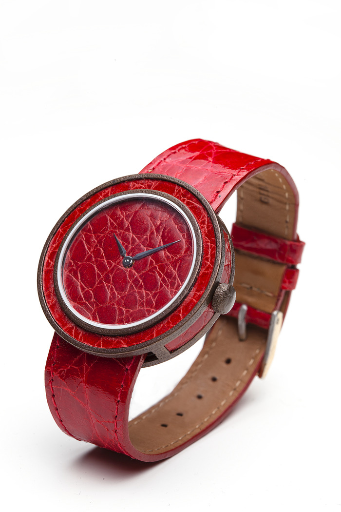The LeatherTime Watch