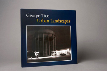 Urban Landscapes book, signed by George Tice