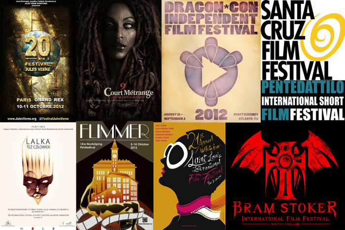 """""""The Narrative of Victor Karloch"""" screened at over 30 film festivals worldwide, including many sci-fi and horror festivals and several Oscar-qualifying festivals."""