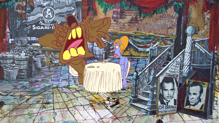 Animation by Colleen Cox Background by Ralph Bakshi