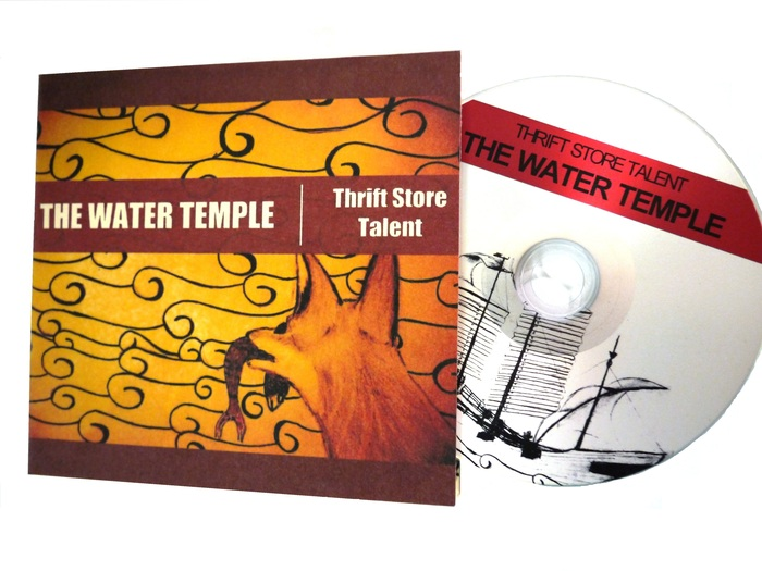 The completed physical copy of 'The Water Temple'