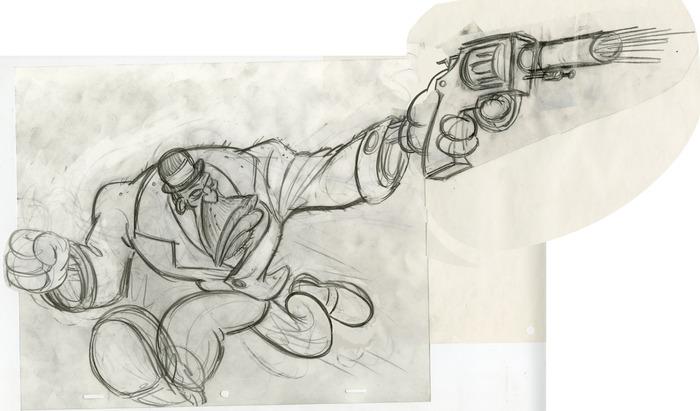 Max with Gun by Joseph Baptista
