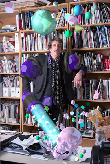 An Important Portrait of David Liss (Director of MOCCA Toronto)