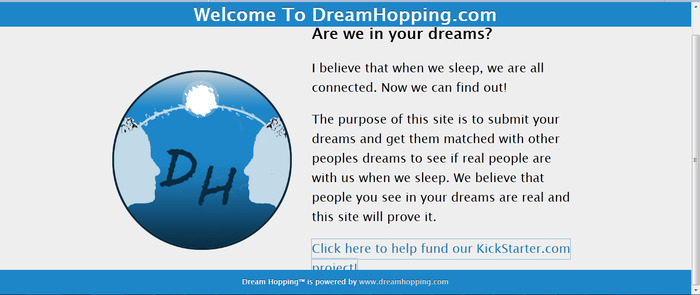 www.dreamhopping.com    front page