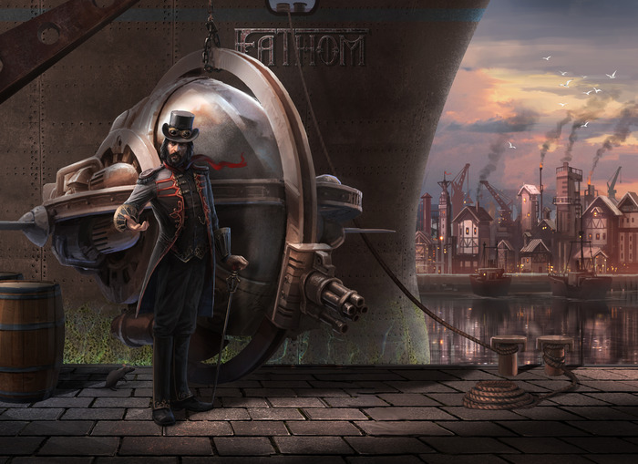 Nathaniel Lockhart and the Bathysphere