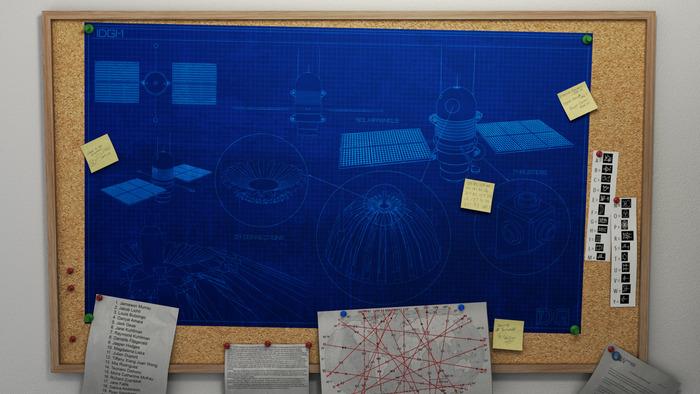 The original blueprints and design schematics for iDGi-1