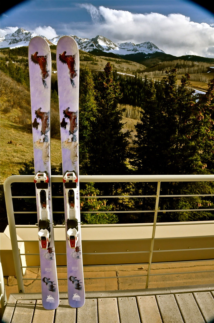 Limited Edition Wild Horse Ski