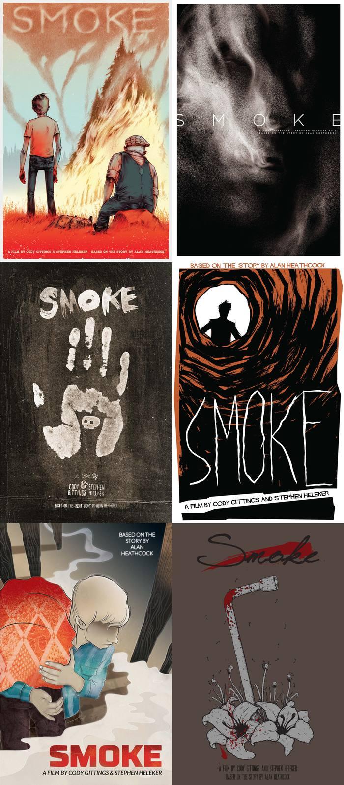Original artwork designed by Erin Ruiz, Adam Rosenlund, Conrad Garner, Chris Hunt, Tiffanie Hsu, and Beau Van Greener (from top-left)