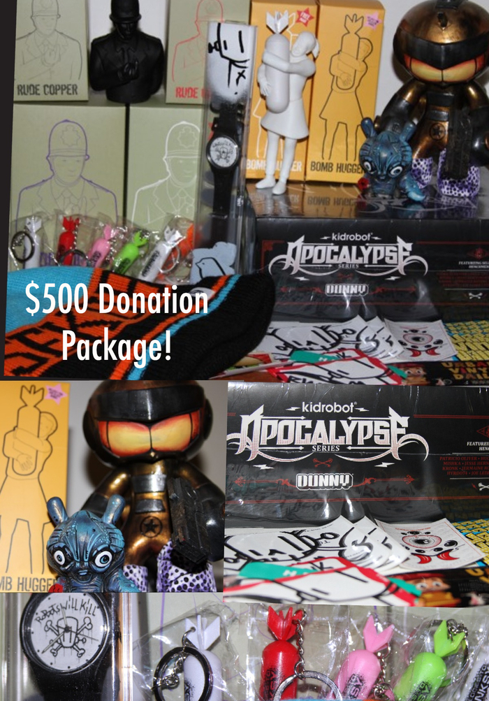 $500 Package donated by awesome members of the community.