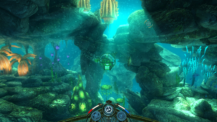Explore a beautiful undersea environment