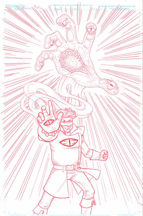 Original art by Comic Book Girl 19