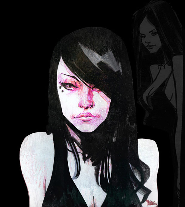 Dan Panosian (Serafina the Butcher, character design for ARENA MODE)