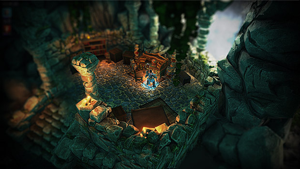 Screenshot from Divinity: Original Sin, work in progress