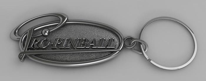 Pro Pinball Key Ring (concept)