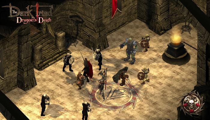 the dark triad fight scene