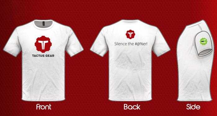 Tactus Gear tee shirt