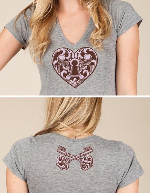 Ladies V-Neck Printed on Alternative Apparel by Steadfast Brand