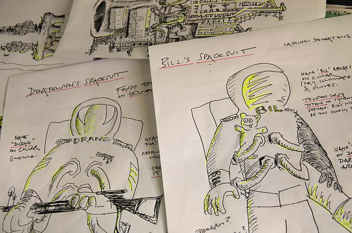 Spacesuit sketches
