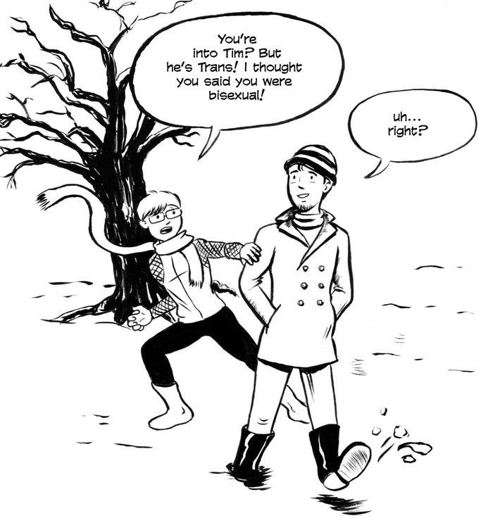 From contributor Randall Kirby, creator of BOP! Comics