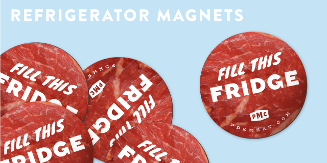 One of these magnets could be yours: $75 Reward Tier