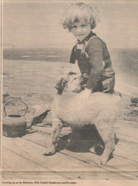 My brother Daniel growing up on the Great Blasket Island.