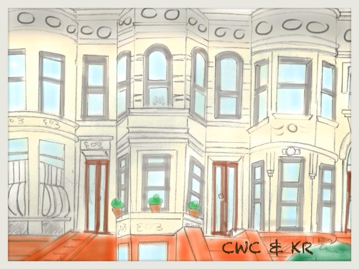 Howard and Chloe's Home in Park Slope