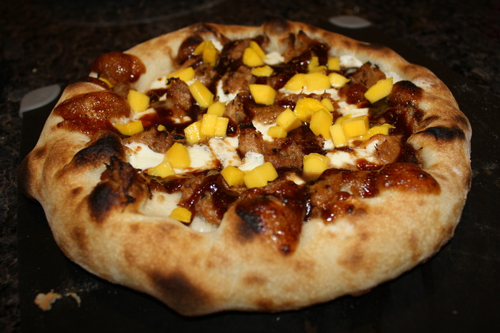 BBQ Pulled Pork with Diced Mangos - Rotating Special