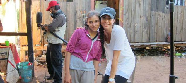 Tania (violinist) & Alejandra Nash (Founder & Executive Producer)