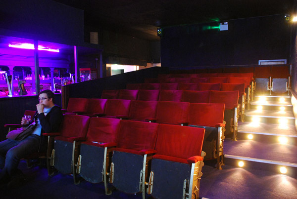 The Small Cinema ready to open.