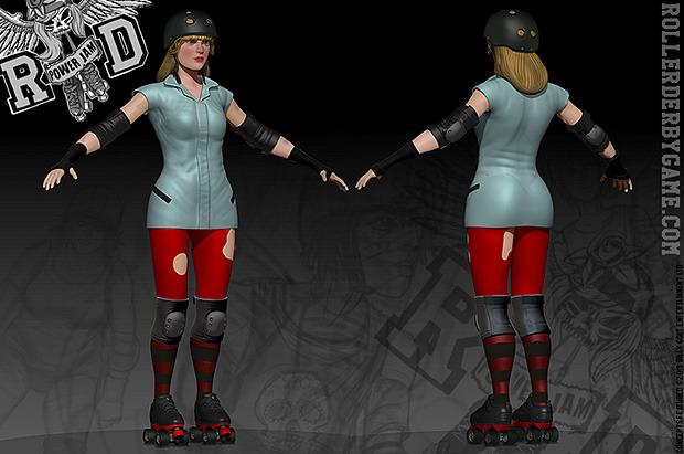 high-res 3D model of alternative uniform