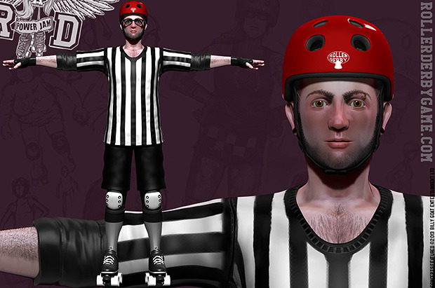 guys can choose to have their likeness applied to a referee or NSOs